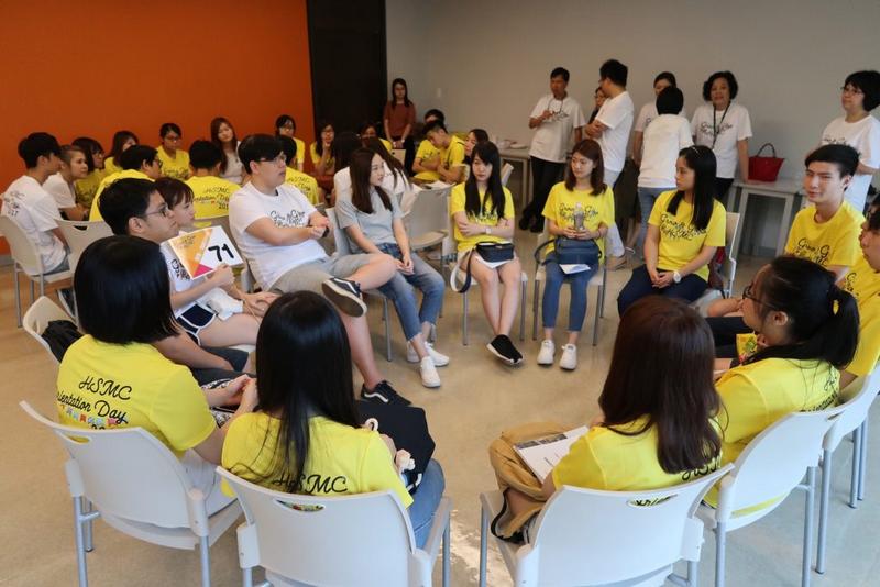 高年級學生分享學習經驗