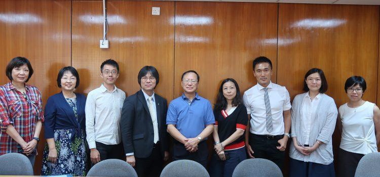實習合作伙伴到訪恒管中文系