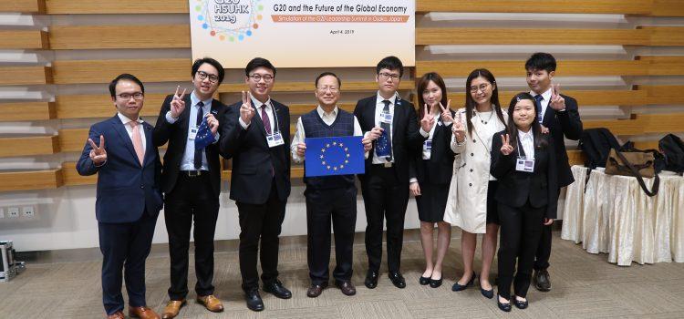 本系代表隊於2019「G20模擬峰會」勇奪多項殊榮
