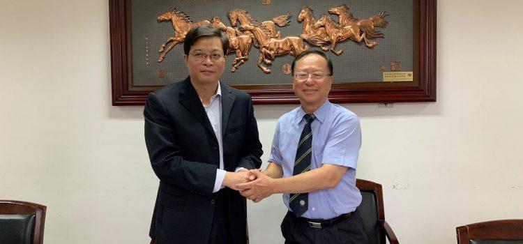 清華大學人文學院與本系簽訂交流計劃備忘錄